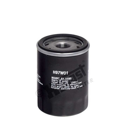 H97W01 Маслен филтър  Oil filter CASE IH 10, 20, 30; CATERPILLAR 300; DAVID BROWN 1000; DITCH WITCH 3000; GEHL MB; HYDRA-MAC 10; INGERSOLL RAND P; JCB 800, 8000; NEW HOLLAND TC; FIAT SEDICI; SUBARU JUSTY II 1.3-D