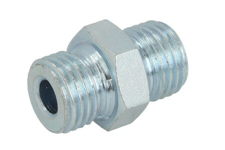ZP1414H Съединителна глава [NIK-MAR]  fitting Straight connector, M14x1,5 outer, M14x1,5 outer (HN)
